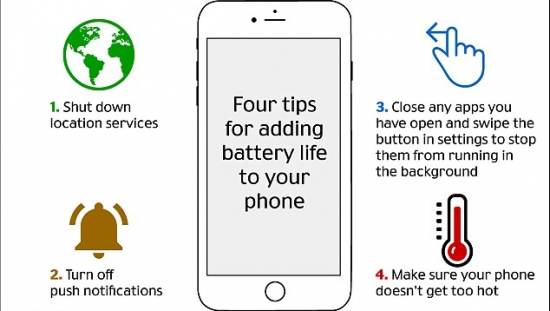 Always running out of power? Engineer reveals the four simple tricks that could extend your phone's battery life