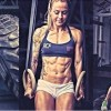 Christmas Abbott Saved Herself With Fitness