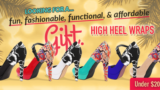 Fashion for your Heels | High Heel Wraps