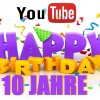 Happy Birthday YouTube 10 YEARS - See the first YouTube video