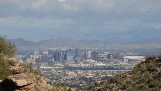 Hiking in South Mountain - Phoenix, AZ