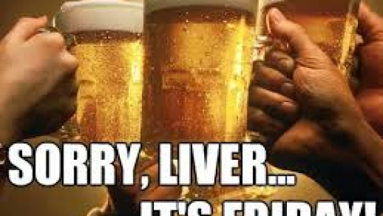 Sorry Liver is Friday - How to protect your liver if you drink alcohol